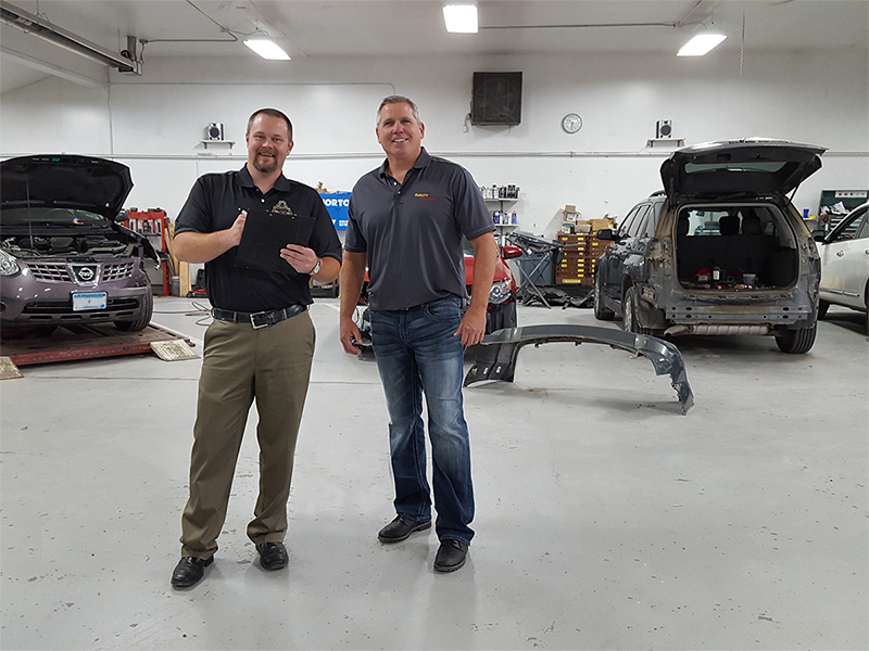 Owner Dave Cox & Estimator Marty Rudh