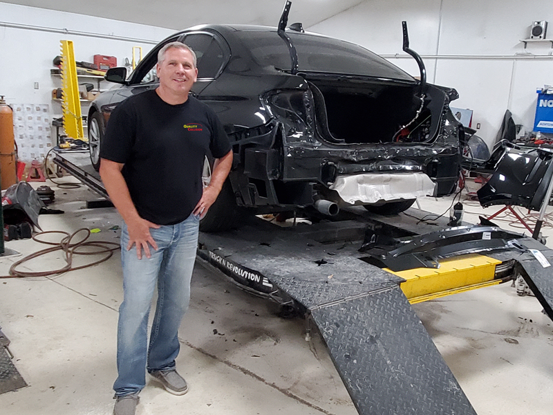 Owner Dave in Shop 2021